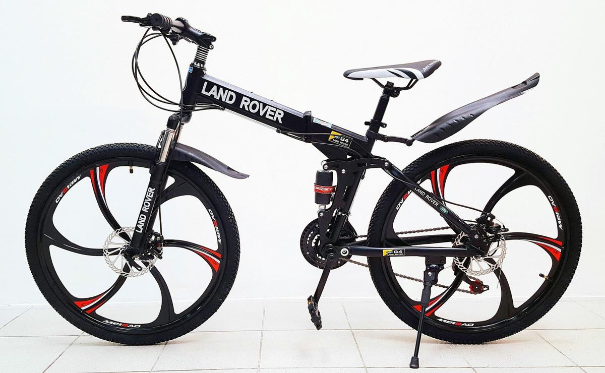велосипед Land Rover на литье