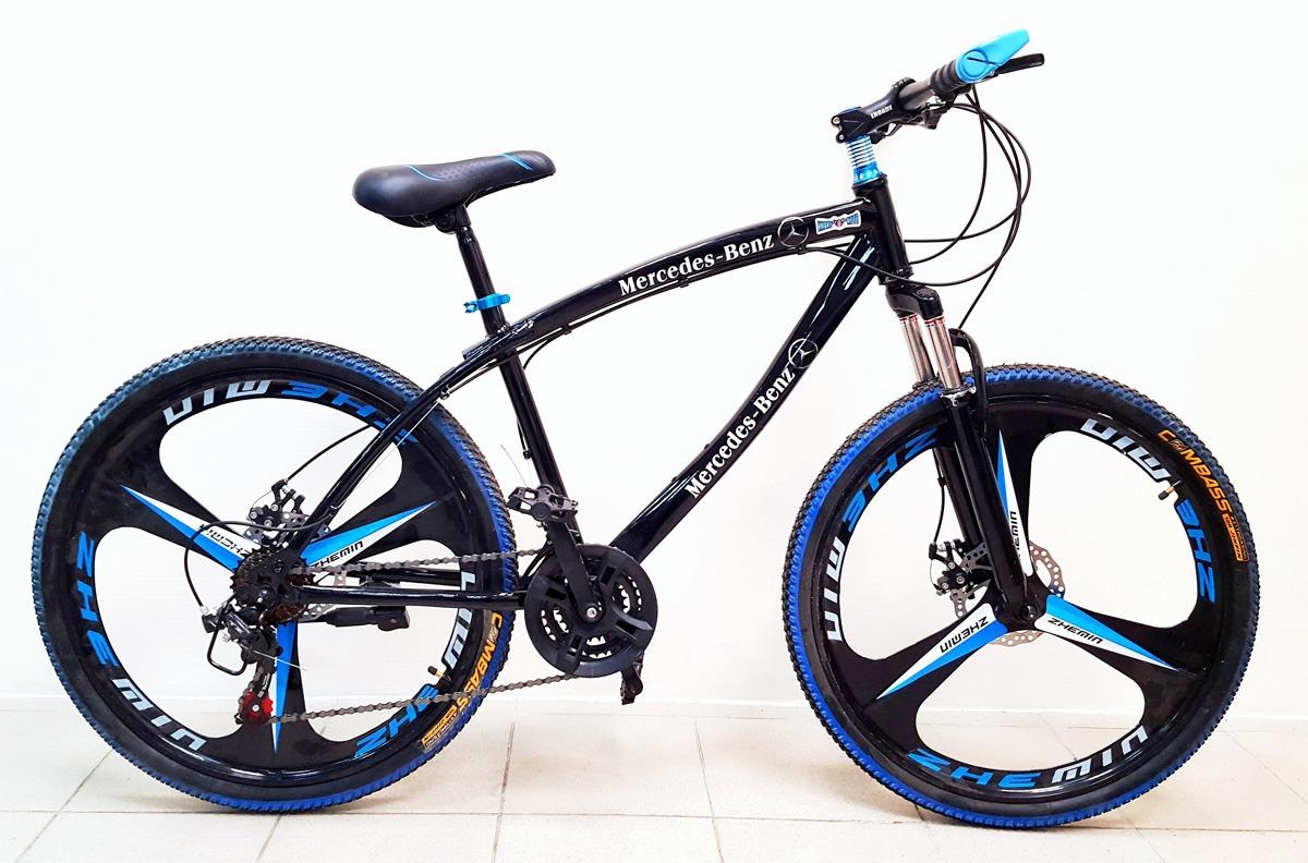 велосипед Mercedes-Benz с легкосплавными колесными дисками