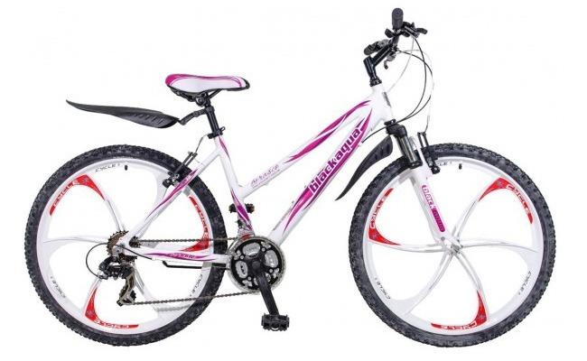 женский горный велосипед на литых дисках