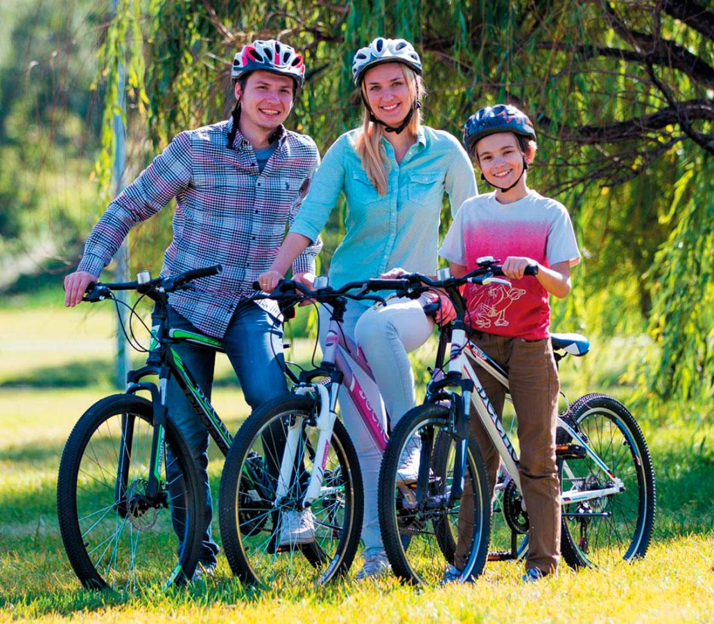 велосипеды Десна для всей семьи