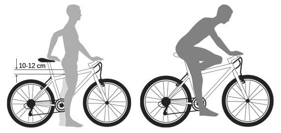 примерка велосипеда
