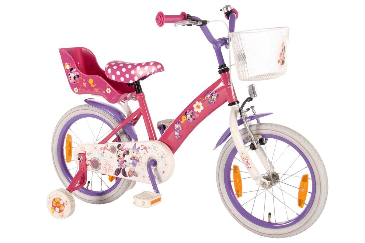 велосипед для девочки 2+2