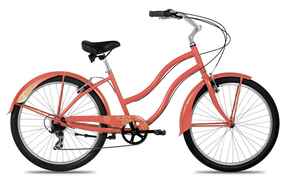 типичный женский велосипед
