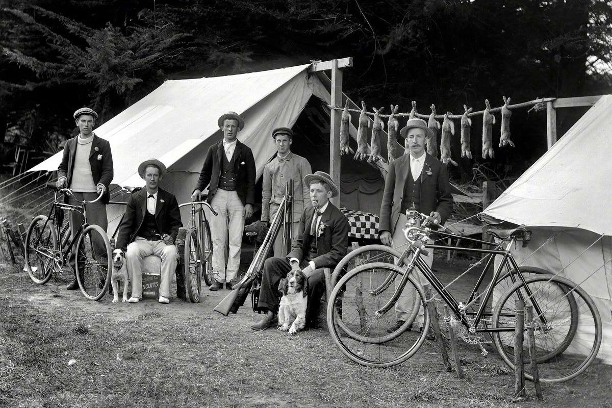 велосипеды начала XX века