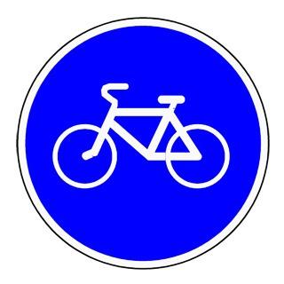 знак 4.4.1 (велосипедная дорожка )