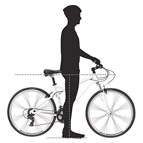 примерка подросткового велосипеда