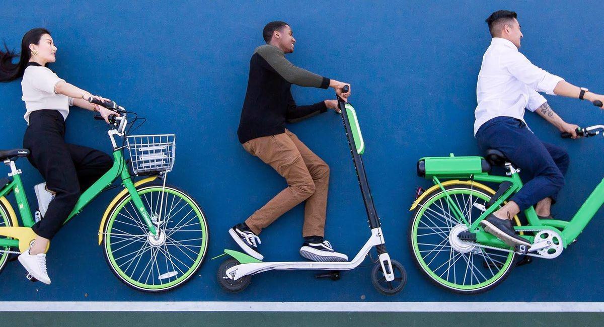 самокат или велосипед
