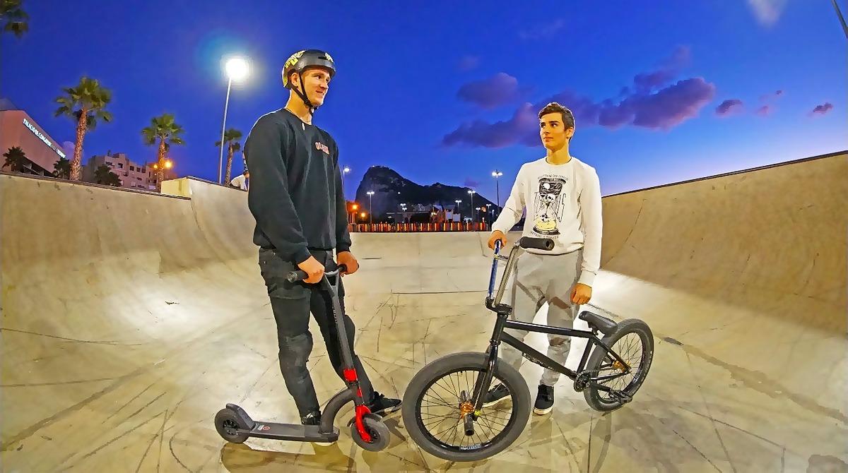 BMX-велосипед или самокат
