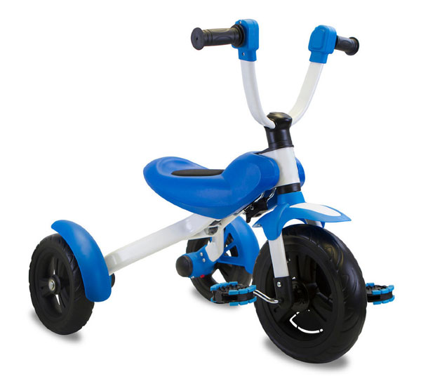 обычный трёхколёсный велосипед для ребёнка