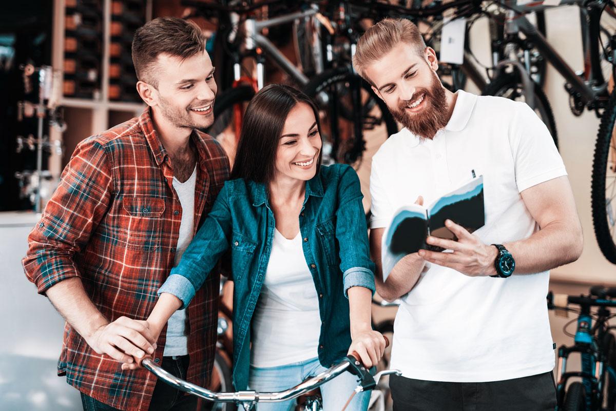помощь в выборе велосипеда