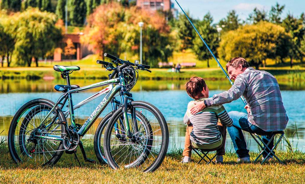 Десна - велосипеды любительского уровня