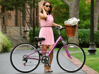женский велосипед (subject)