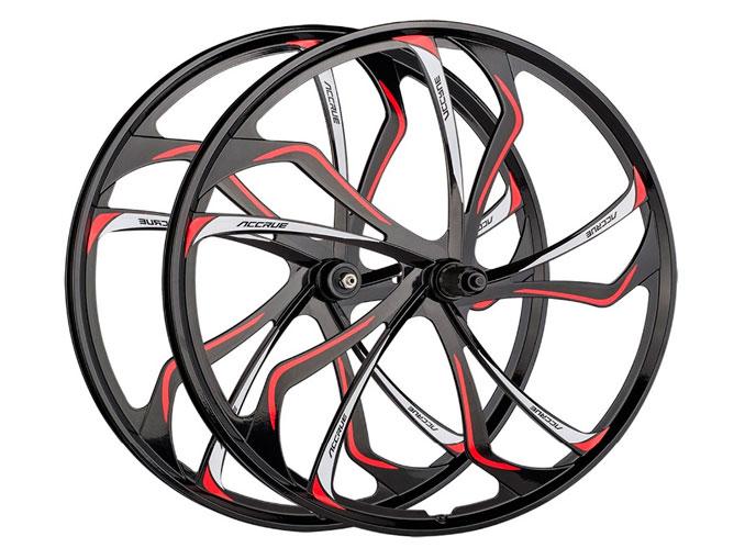 легкосплавные (литые) колесные диски для велосипеда