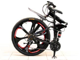 велосипед с литыми дисками (складной)