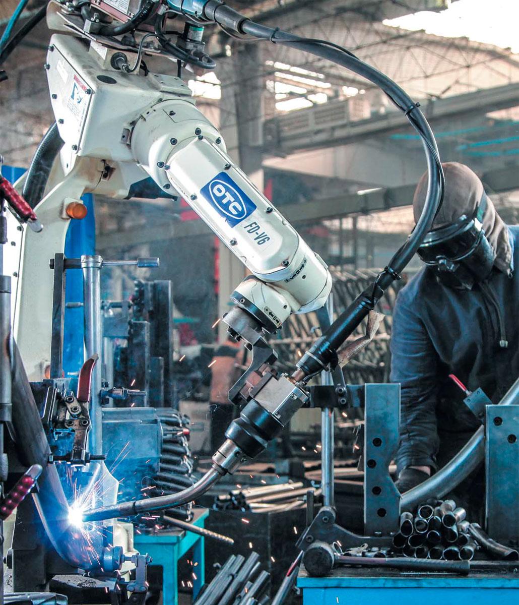 роботизированное производство велосипедов
