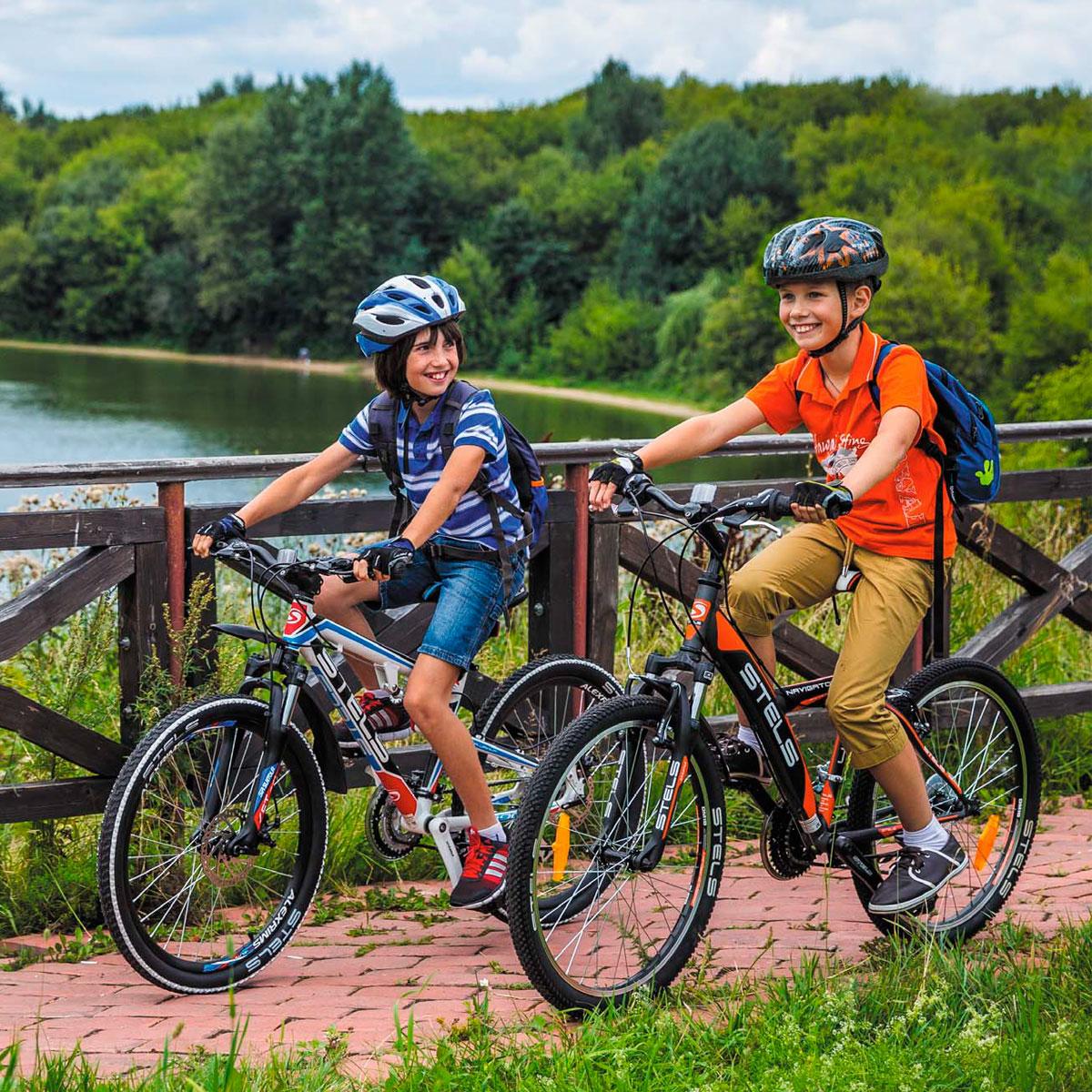 подростковые велосипеды Stels